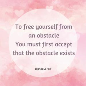 blokkade in jezelf