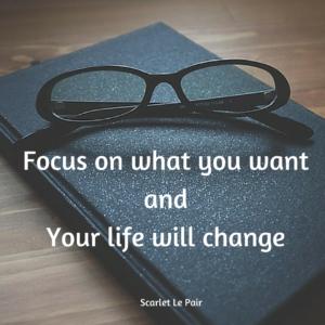 focus je op wat je wilt