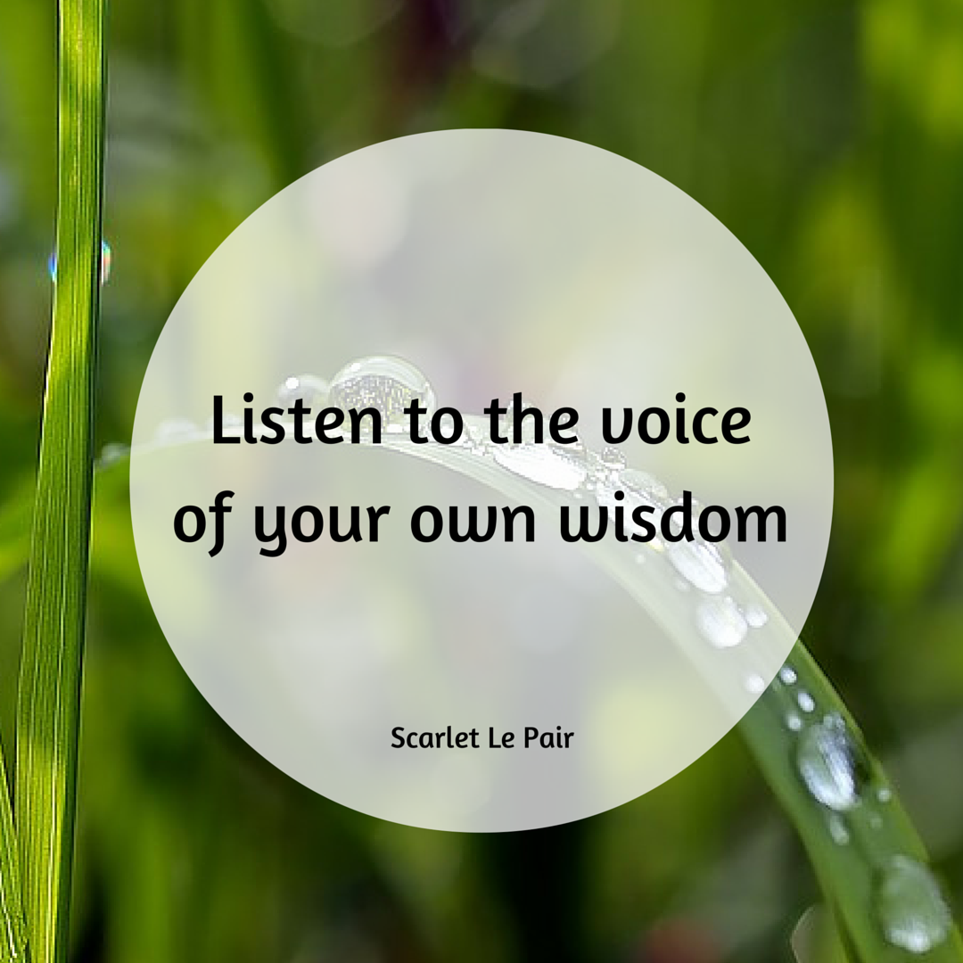 jouw innerlijke wijsheid
