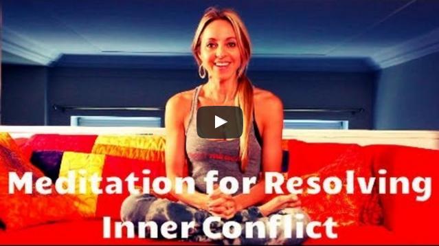 meditatie om innerlijke conflicten op te lossen