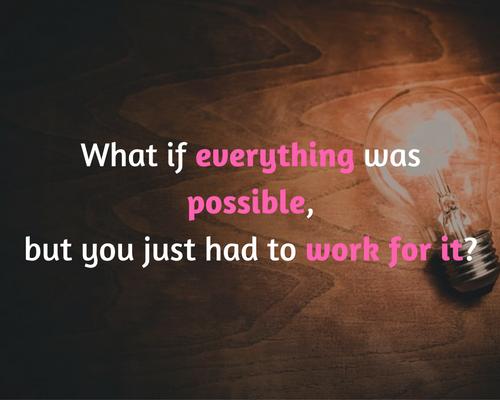 Wat als alles mogelijk is?