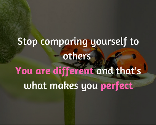 jezelf vergelijken met anderen