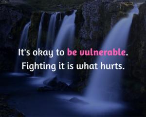 omarm je kwetsbaarheid