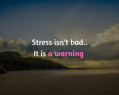 stress is een uitdaging