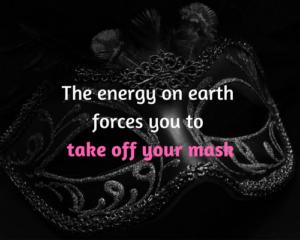 zet je masker af