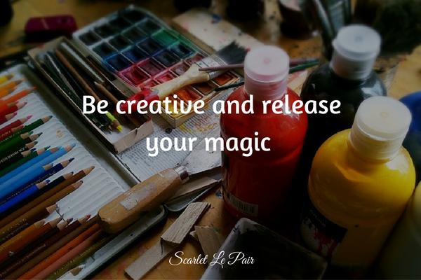 gebruik je creativiteit