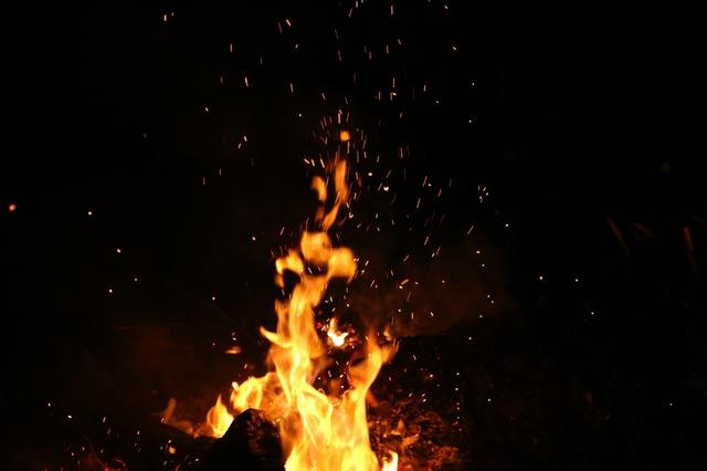 dromen over vuur en brand