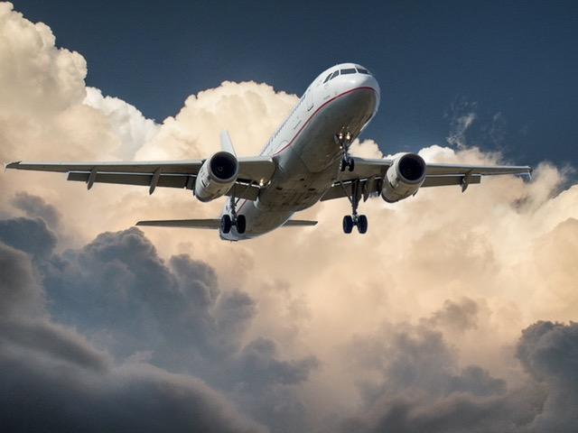 dromen over een vliegtuig