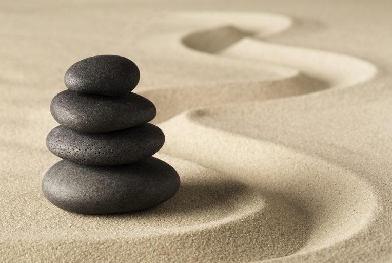 bezig met spiritualiteit