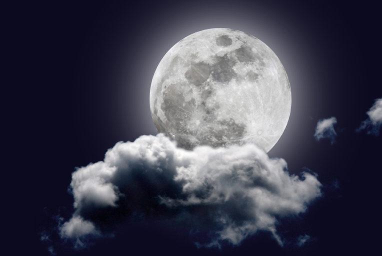 De volle maan van oktober 2017