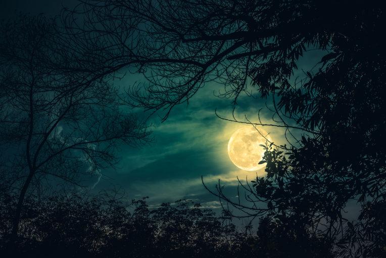 volle maan van 31 maart 2018