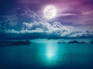 De energie van het universum: volle maan van 29 mei 2018