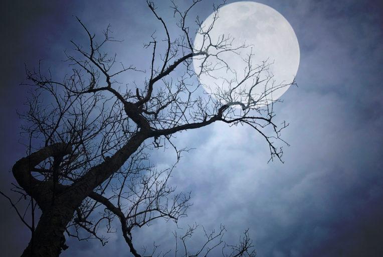 volle maan van oktober 2018