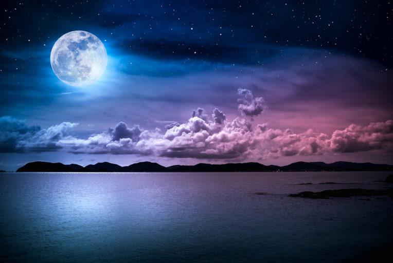 de volle maan van februari 2019