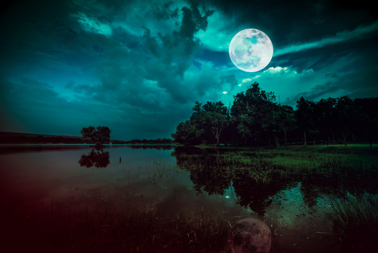 volle maan augustus 2019