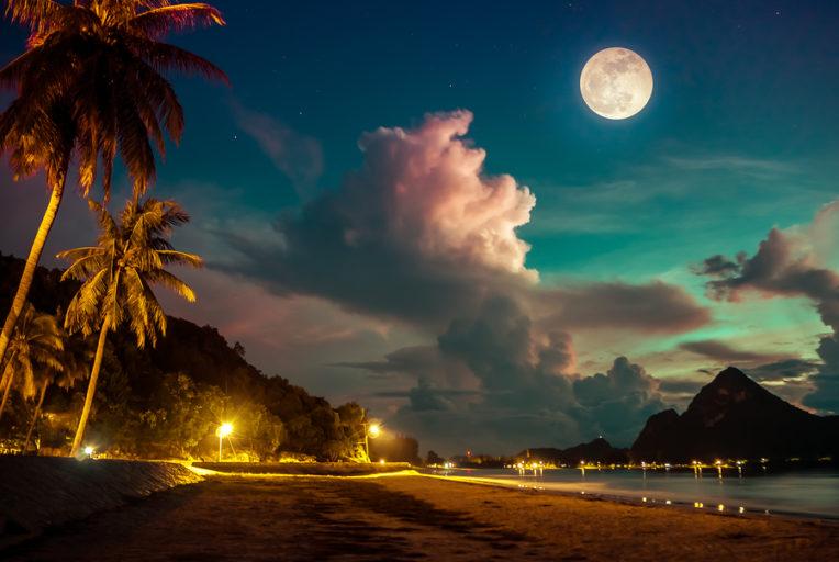 volle maan van oktober 2019
