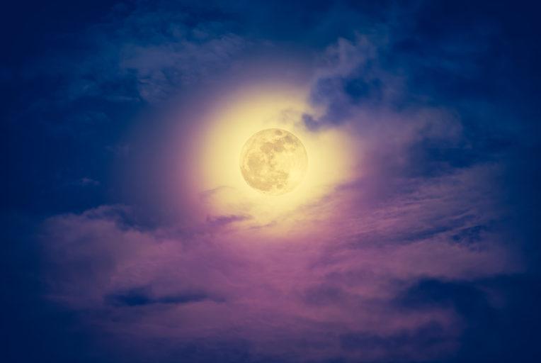 volle maan van december 2019