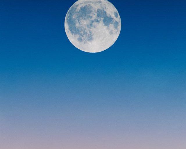 volle maan van januari 2020