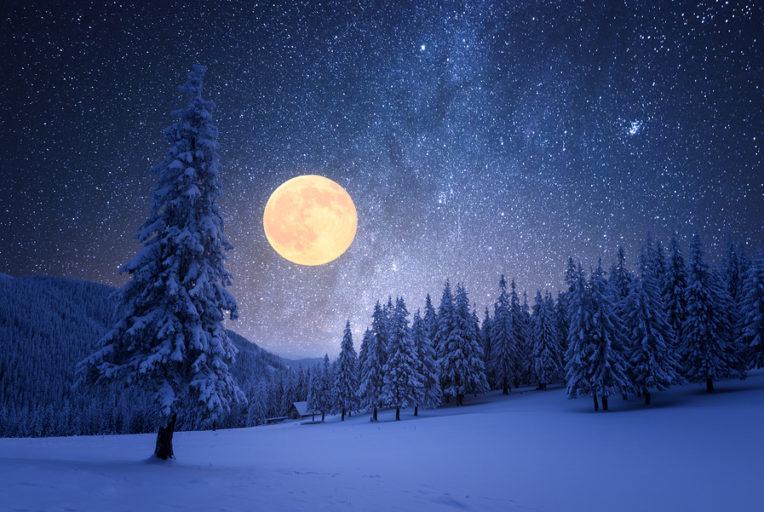 volle maan van februari 2020