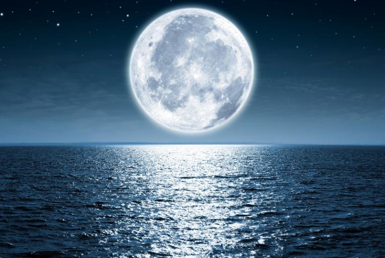 De tweede volle maan van oktober 2020