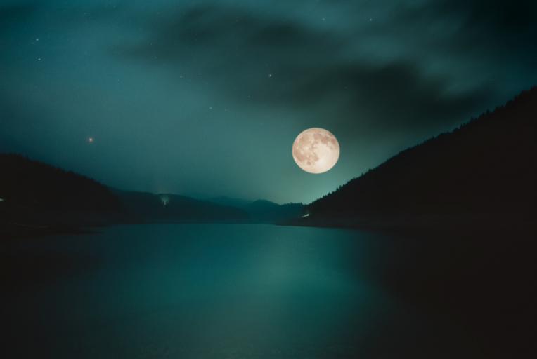 de volle maan van november 2020