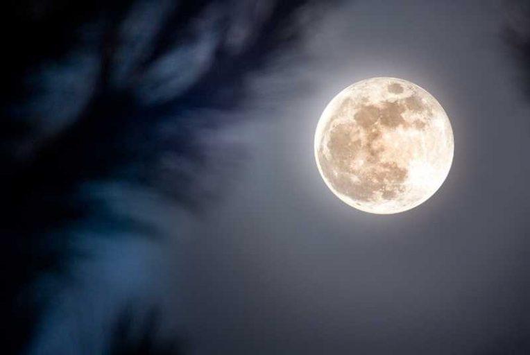 de volle maan van december 2020